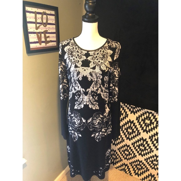 INC International Concepts Dresses & Skirts - INC. Floral Sweater Dress